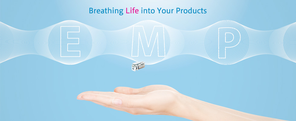 "Breathing ""Life"" into Our Clients' Products E.M.P Enomoto Micro Pump"